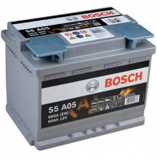 Аккумулятор BOSCH  (S5 А05) AGM 60 обр.