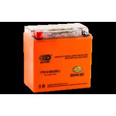 Аккумулятор OUTDO 14ah  UTX14-BS (YTX14BS) iGEL пр.