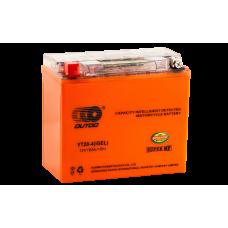 Аккумулятор OUTDO 18ah  YT20L-4 (GEL) пр.