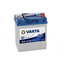 Аккумулятор Varta Blue Dinamic (A14) азия 40 обр.