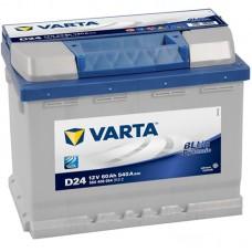 Аккумулятор Varta Blue Dinamic (D24) 60 обр.