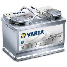Аккумулятор Varta  Start-Stop Plus AGM (E39) 70 обр.