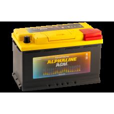 Аккумулятор  AlphaLINE AGM AX 80 L4  (580800) обр