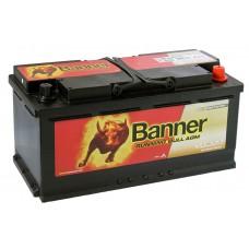 Аккумулятор BANNER  Runnig  Bull 105 AGM обр