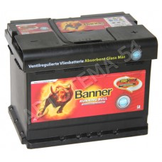 Аккумулятор BANNER  Runnig  Bull  60 AGM обр