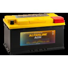 Аккумулятор  AlphaLINE AGM AX 95 L5 (595950) обр
