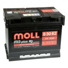 Аккумулятор  MOLL M3 plus 62.0 обр