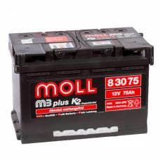 Аккумулятор  MOLL M3 plus 75.0 обр