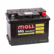 Аккумулятор  MOLL M3 plus 60.0 обр низк