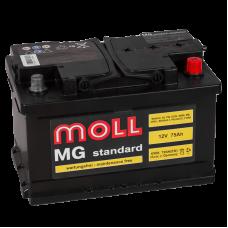 Аккумулятор  MOLL MG Standart 75.0 обр низк