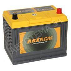 Аккумулятор Atlas  ABX AGM 75 обр