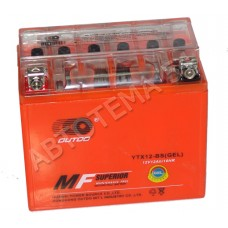 Аккумулятор OUTDO 12ah  YTX12-BS (GEL) пр