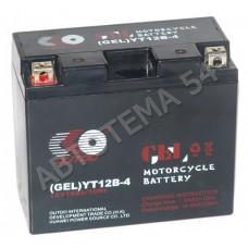 Аккумулятор OUTDO 10ah  YT12B-4 (GEL) пр