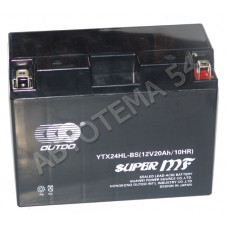 Аккумулятор OUTDO 20ah  YTX24HL-BS (GEL) обр