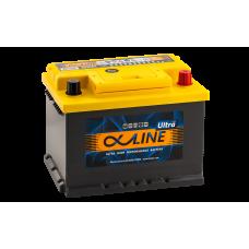 Аккумулятор  AlphaLINE ULTRA EU  62 LB2 (56200) обр.низк